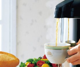 Space Saving Coffee Maker