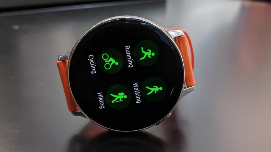 Smart Watch in Hand