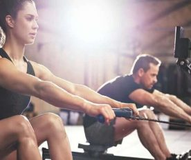 Embrace The Full Body Burn With A Rowing Machine